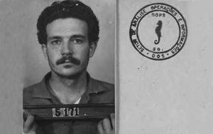 Lúcio Bellentani (1972) Fotografiert im Folterzentrum DOPS Fotografie heute im Arquivo Público do Estado de São Paulo