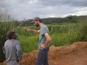 Maisfeld eines Kleinbauern oder doch alles für den Bergbaumulti? Foto: Christian Russau