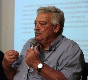 Lúcio Bellentani, September 2017. Foto: Gerhard Dilger