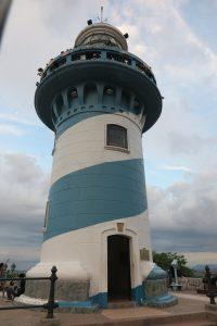 Wahrzeichen Guayaquils: der stummelige Leuchtturm