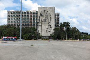 Platz der Revolution - fast ausgestorben