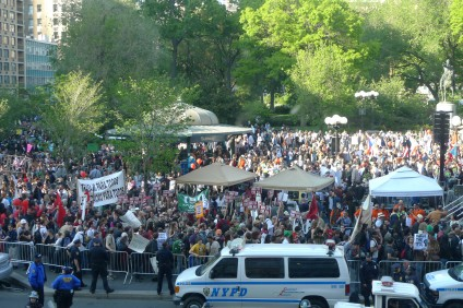 May Day Union Square 2012