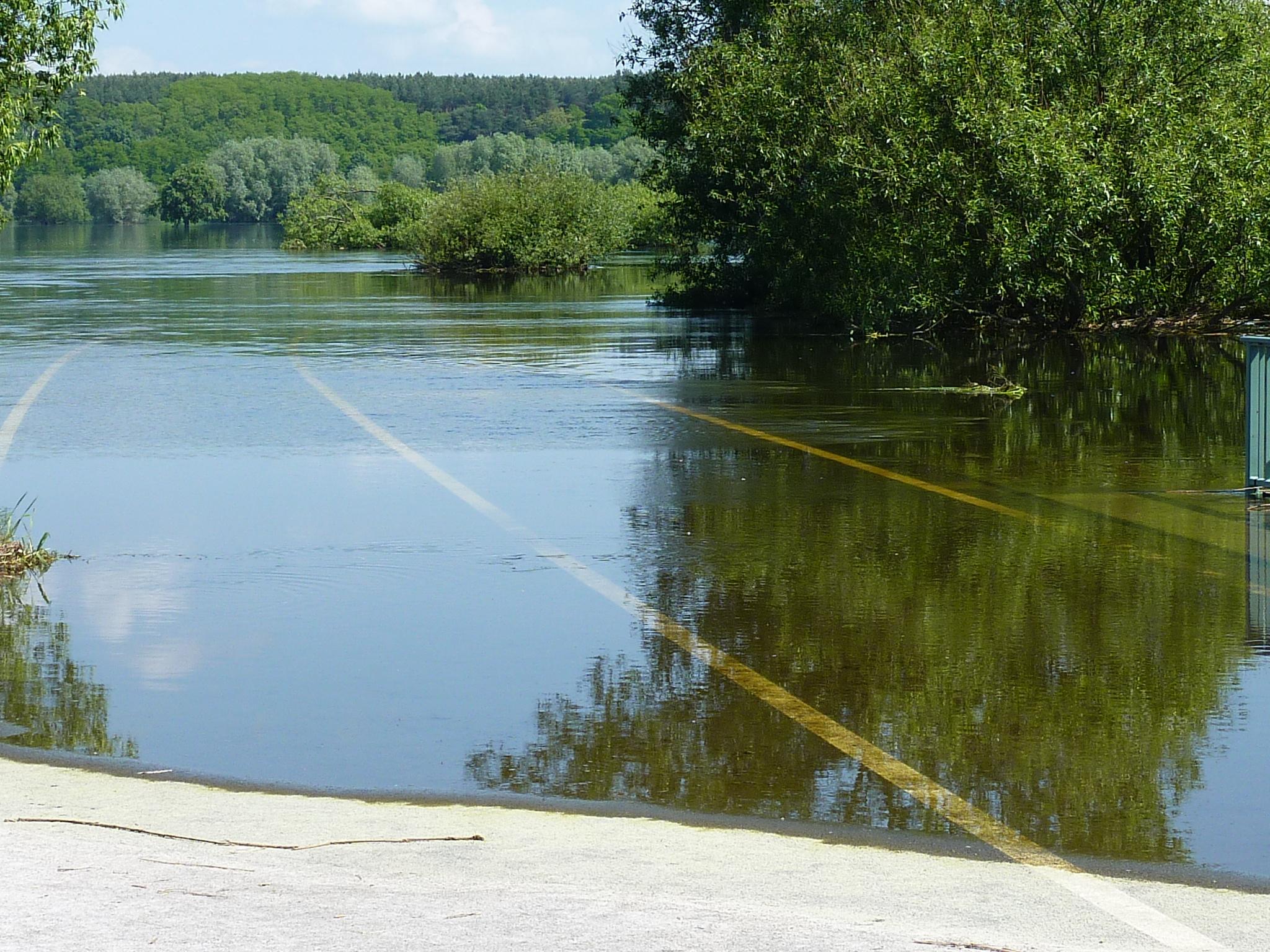 Hochwasser Oderbruch