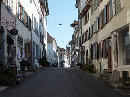 Grossbasel: Spalenberg / Ecke Nadelberg
