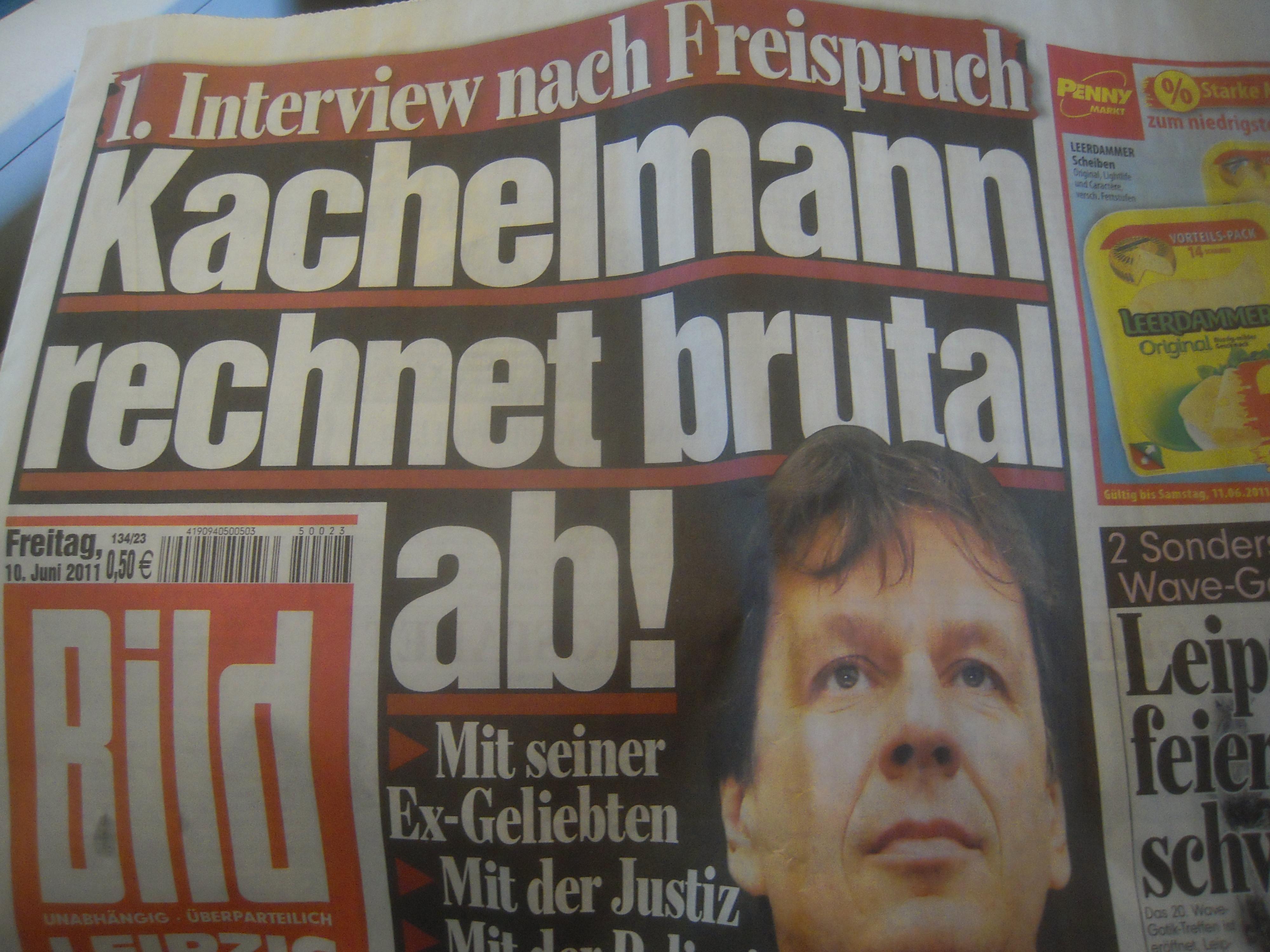 Bildzeitung Von Gestern