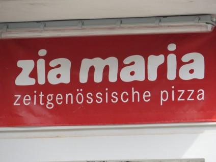 Zeitgenössische Pizza