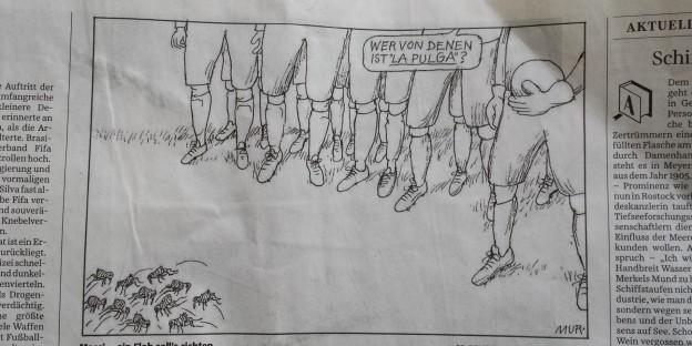 Süddeutsche Zeitung 12/13. Juli 2014