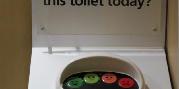 Toilette sauber