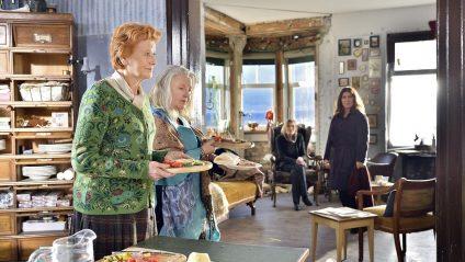 Drei Damen vom Gemüsegrill und Klara Blum: Fassbinder-Klassentreffen Foto: ARD