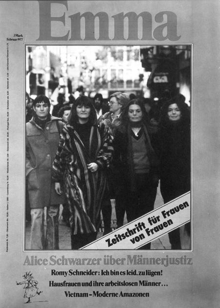 Christiane Ensslin, Alice Schwarzer, Angelika Wittlich, Sabine Schruff
