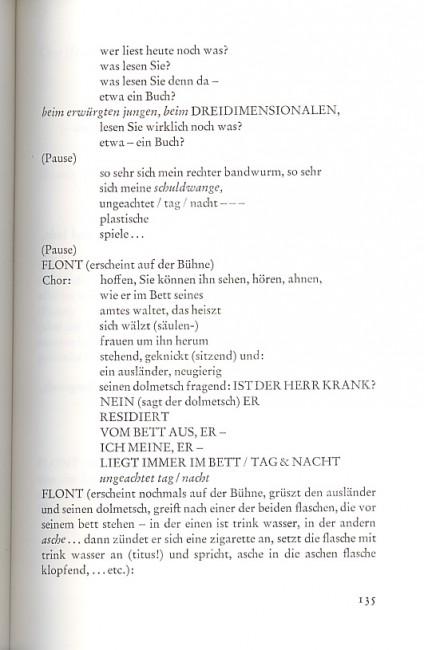 Friederike Mayröcker, Omnibus, s. 135