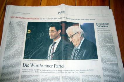 FDP-Brüderle, Dirndl und Kropf, tazblog Schröder & Kalender
