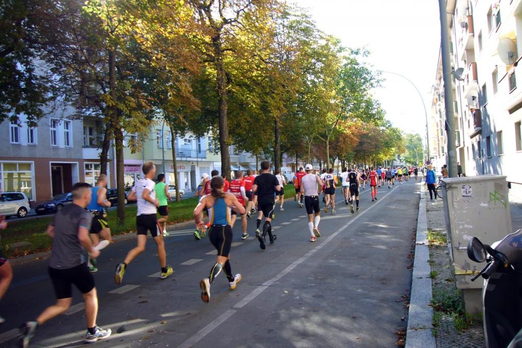 40. Marathon in Berlin, Martin-Luther-Straße, Foto: Barbara Kalender