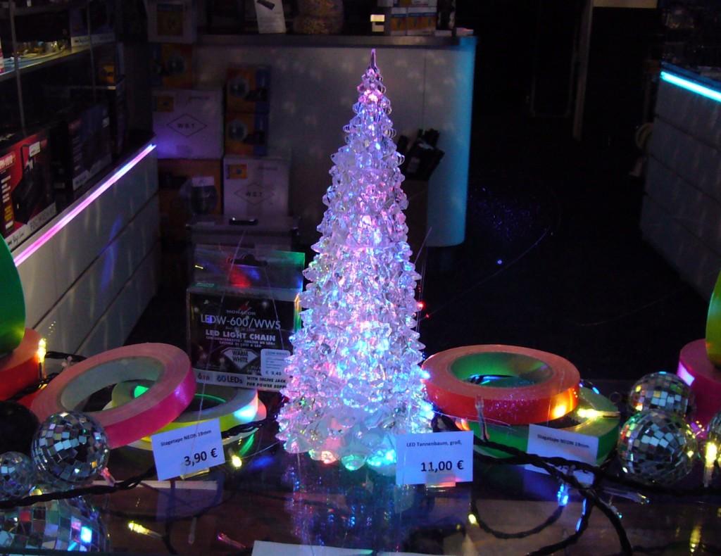 LED-Weihnachtsbaum, Foto: Barbara Kalender