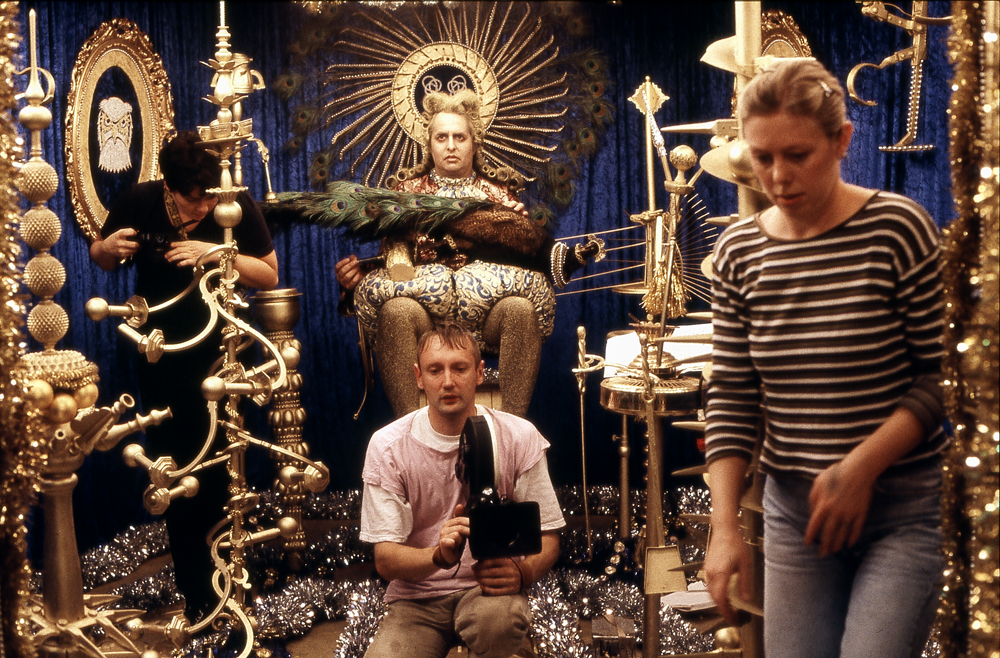 Wenzel Storch während der Dreharbeiten, Copyright: Wenzel Storch
