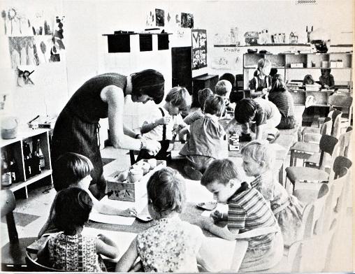 Aus ›Erziehung zum Ungehorsam. Kinderläden berichten aus der Praxis der antiautoritären Erziehung‹, Foto: Frohwalt Strickert. März Verlag