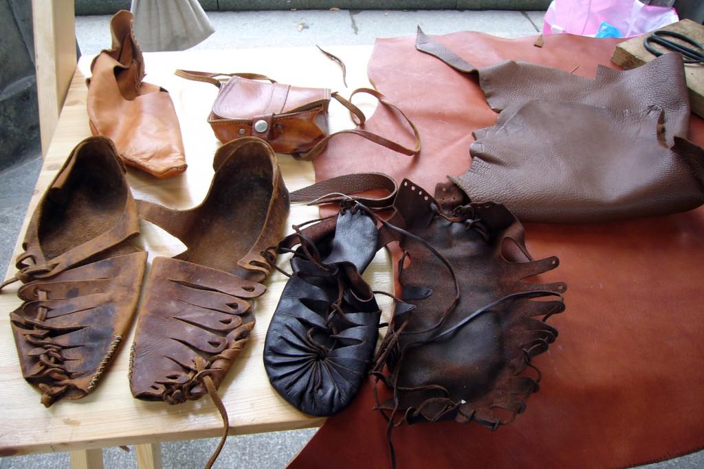 Steinzeit Schuhe