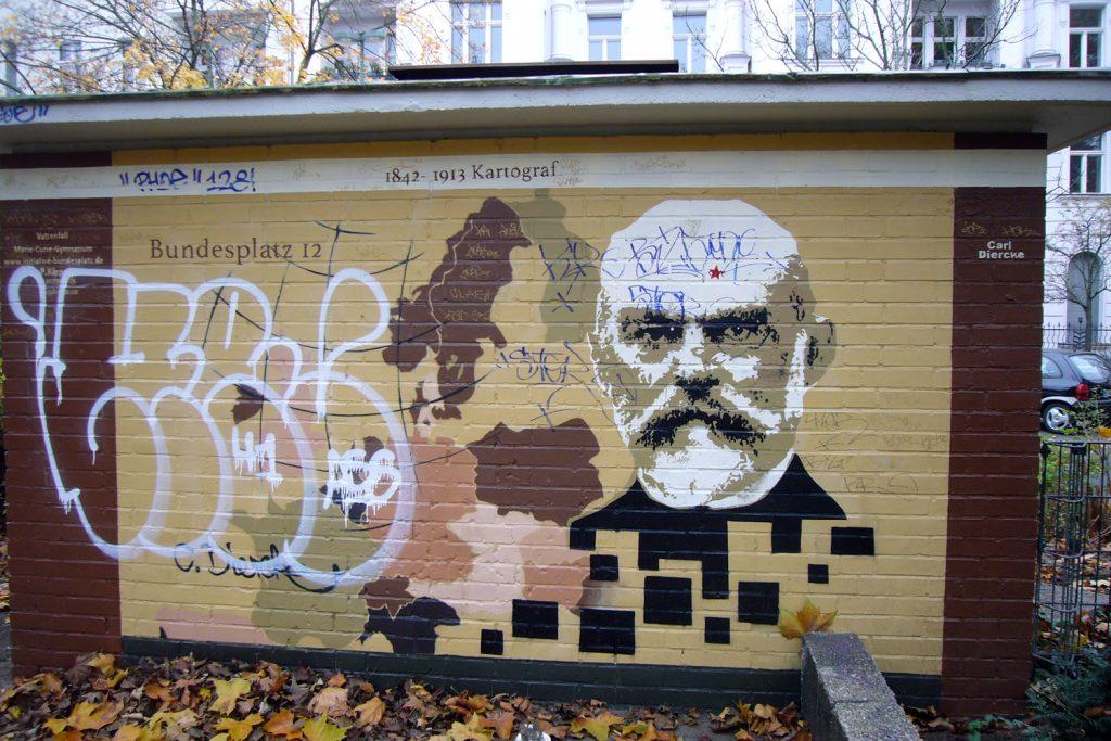 3-Carl-Diercke, tazblog Schröder und Kalender, Foto: Barbara Kalender