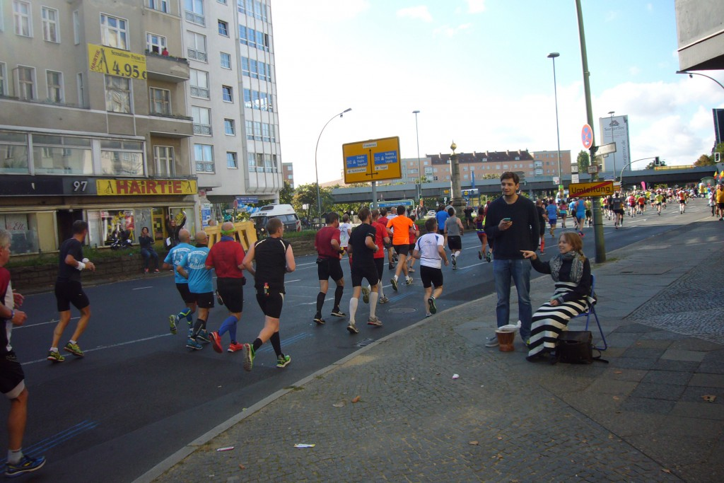 Berliner Marathon 2015, Foto: Barbara Kalender