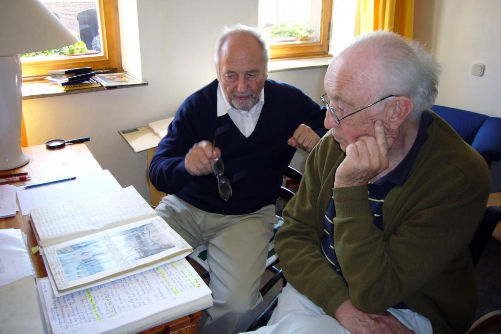 Jörg Schröder und Henning John von Freyend. Foto: Barbara Kalender
