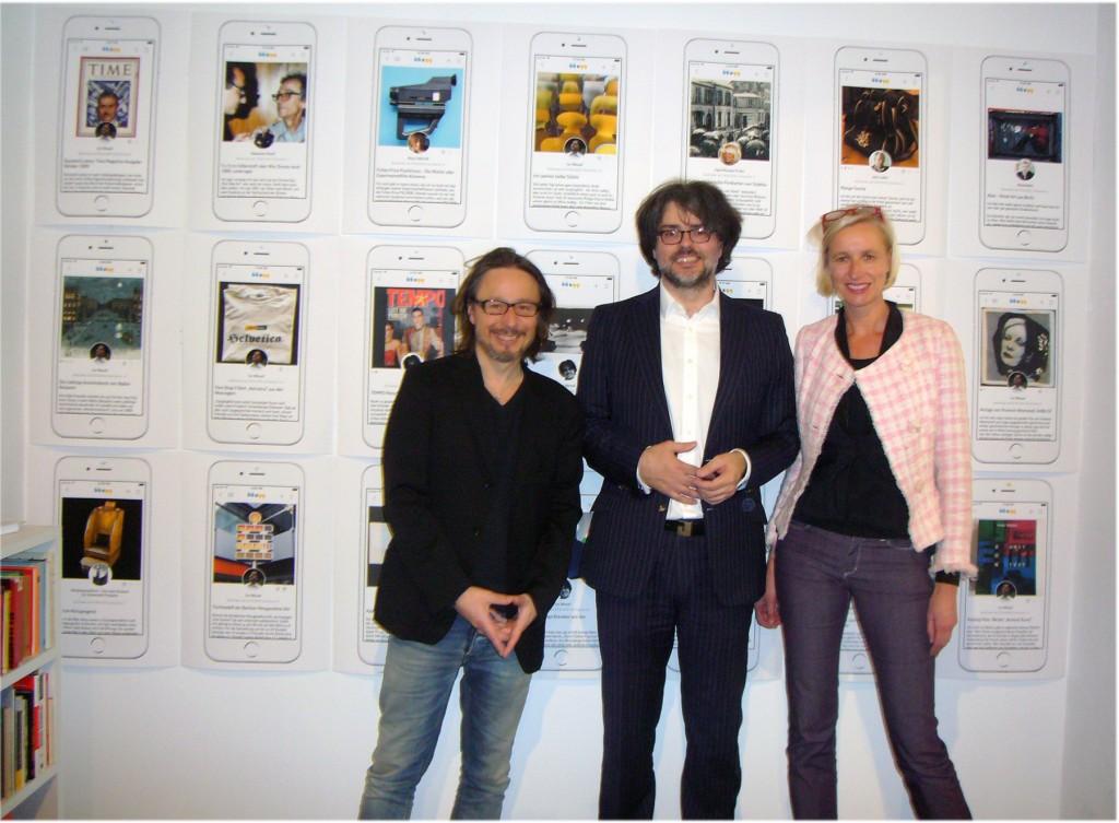 In-Best-Hands, v.l.n.r.: Klaus C. Ulbricht, Ivo Wessel und Ute Weingarten