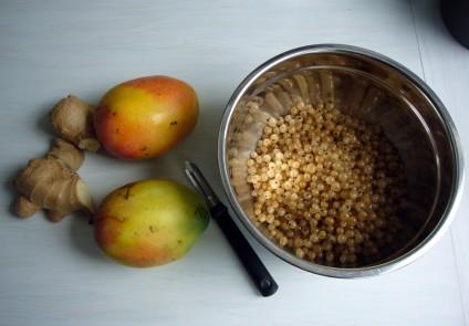 Mango-Johannisbeeren, Chutney, Foto: Barbara Kalender
