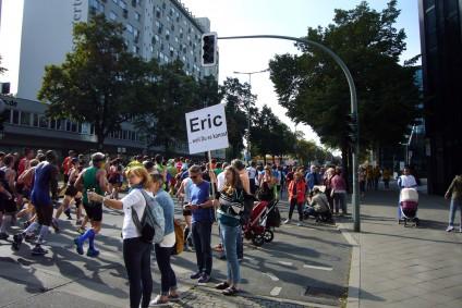 Eric. Berliner Band Beyond The Lines, Berliner Marathon, tazblog Schröder & Kalender. Fotos: Barbara Kalender
