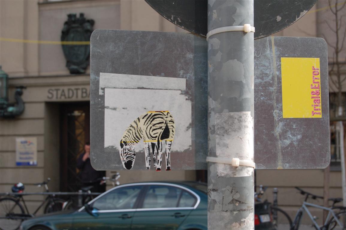 fotoblog streetart zebras. Black Bedroom Furniture Sets. Home Design Ideas