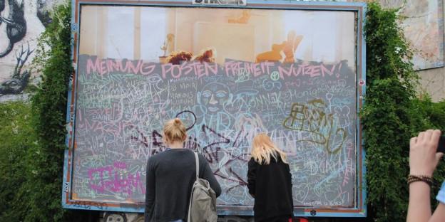Meinung posten Freiheit nutzen Oranienstrasse Kreuzberg