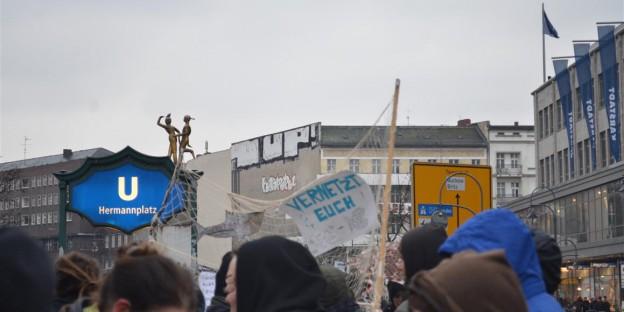 Kiezdemo Hermannplatz: vernetzt euch
