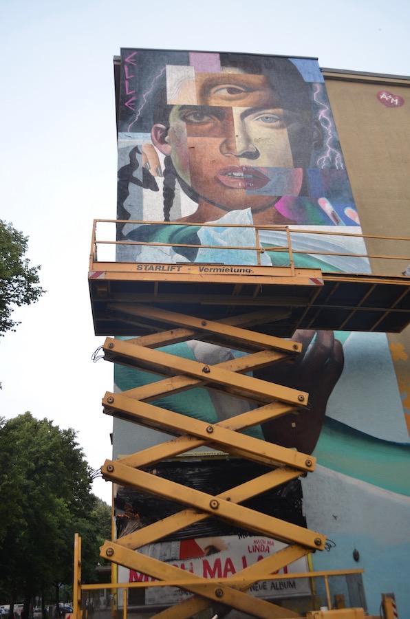 ELLE - Berlin Mural Fest, Wiener Str. 42