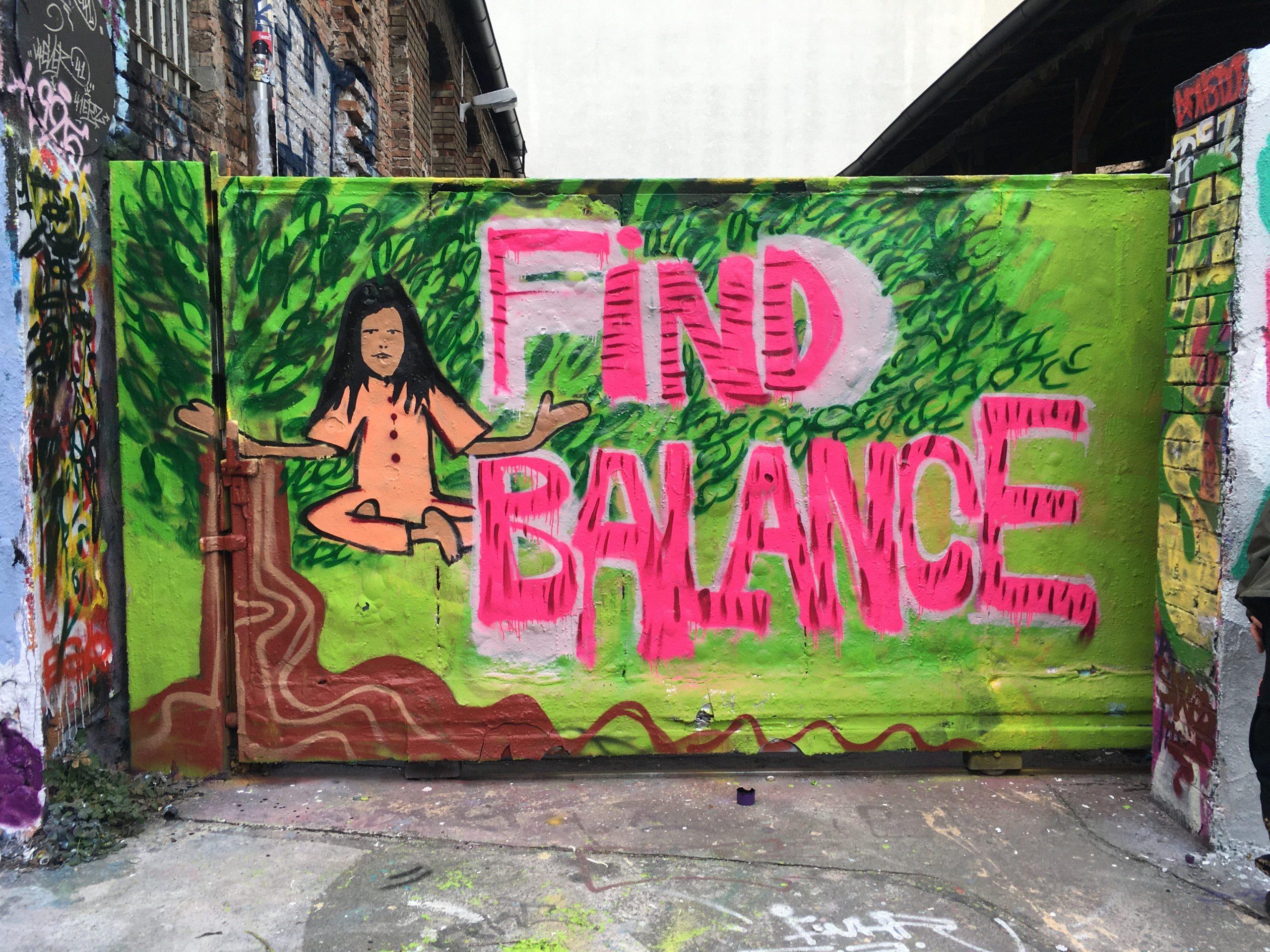 """""""Find Balance"""" bei der Female Jam 2021 in der Alten Feuerwache"""