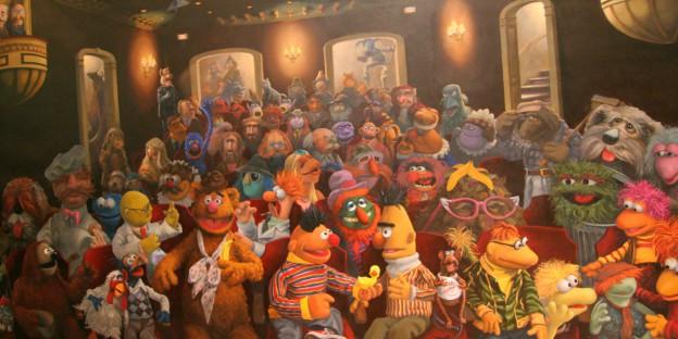 Muppets Mural | CCBY: CoulterWatt- JeffChristiansen