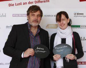 Andreas Rüttenauer, Franziska Fischer