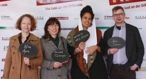 Nina Apin, Elisabeth Tietmeyer, Natalie Mba Bikoro, Jürgen Zimmerer