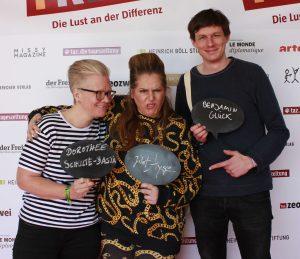 Dorothee Schulte-Basta, Idil Baydar alias Jilet Ayşe, Benjamin Glück