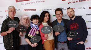 Uli Winterhager, Dima Yabrak, Mechthild Blum,  Hend Abo Al Saud, Reza Balkhi, Manu Schubert