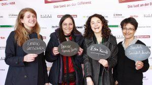 Katrin Gottschalk, Denise Garcia Bergt, Esra Kücük, Saideh Saadat-Lendle