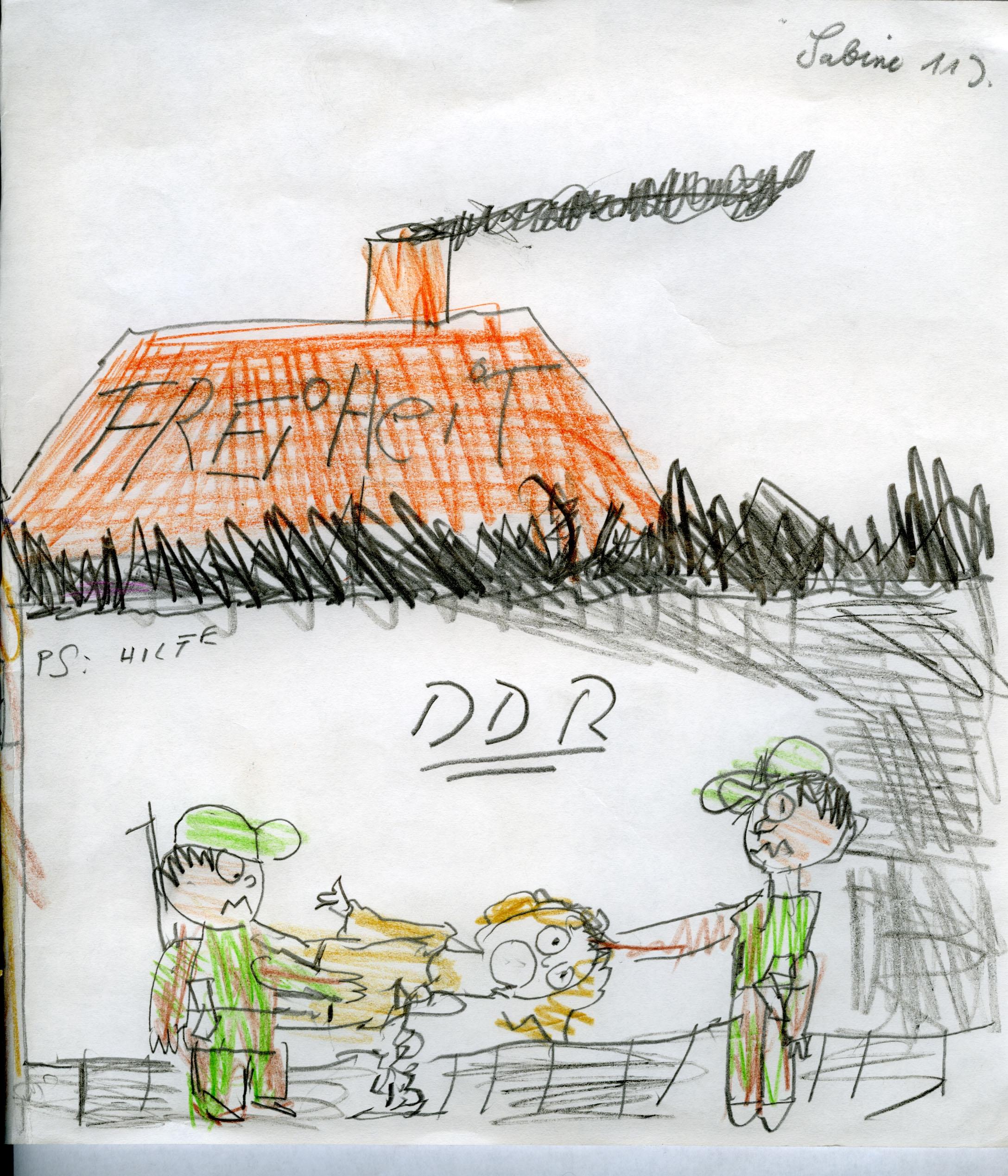 Wie sieht die DDR heute aus? Briefwechsel