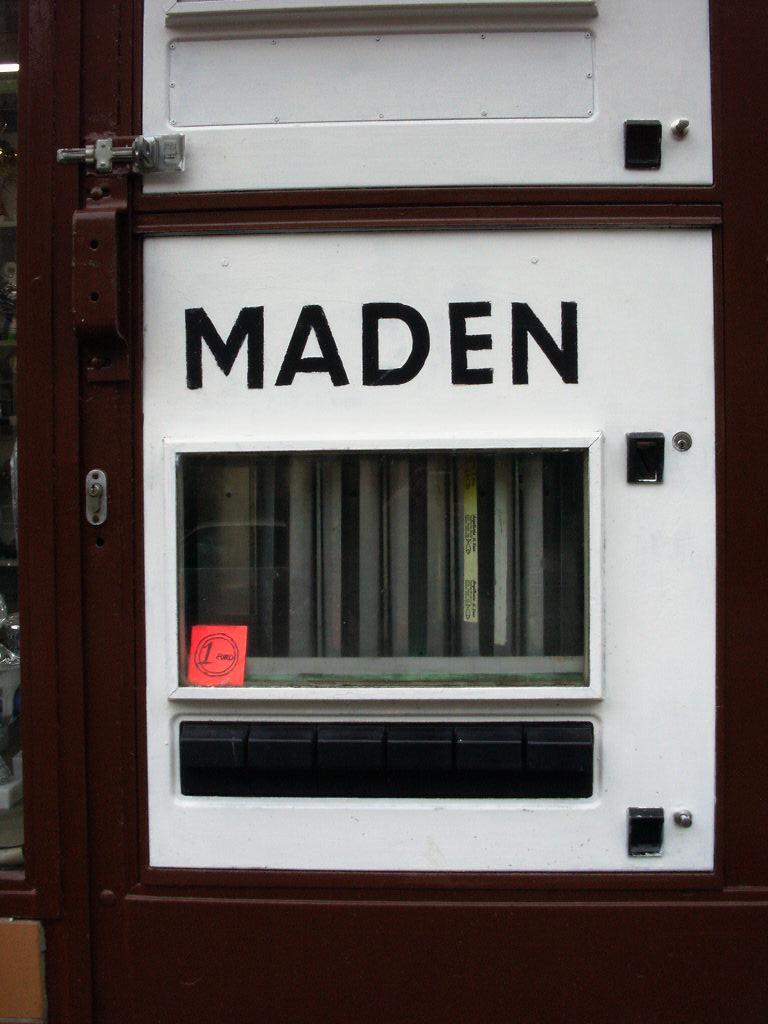 Madenautomat in der Tegeler Straße Foto: N. Heinrich