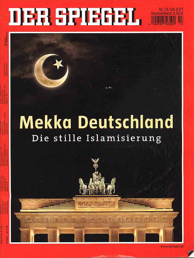 Al samidoun februar 2011 for Spiegel titelblatt
